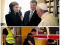 День в фото: Порошенко в Ватикане и теракт в Израиле