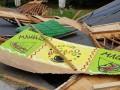 На Певческом поле в Киеве неизвестные разрушили киоски