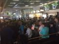 В аэропорту Киев задерживают рейсы, сотни людей не могут улететь