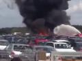 Появилось видео падения самолета семьи бин Ладена