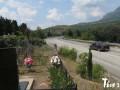 СМИ: В Алуште людей хоронят на обочине дороги