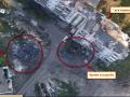 Аэроразведка сняла танки, которые боевики прячут за жилым домом в Донецке