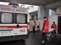 В Киеве произошел взрыв, человеку оторвало руку