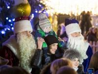 Кличко-Морозы поздравили украинцев с Новым годом и Рождеством