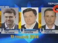 Дебаты-2014: Тягнибок, Саранов, Гриненко