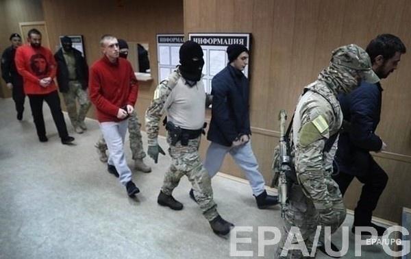 РФ моряков Украине пока не отдаст