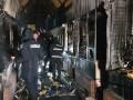 В Киеве горел рынок Левобережный