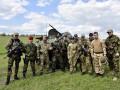Как проходят учения спецназовцы полиции в Донецкой области