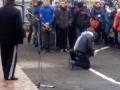 В Тернополе уволили директора ПТУ, поставившего студентов на колени
