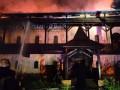 В Киеве ликвидировали масштабное возгорание