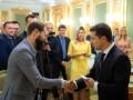 Зеленский выдал удостоверения новым членам ЦИК