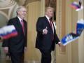 Трампа в Конгрессе забросали российскими флажками