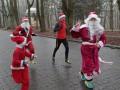 Во Львове провели забег Санта-Клаусов