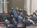 В Раде произошла потасовка из-за плаката Оппозиционного блока
