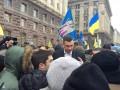 Митинг под КГГА: киевляне требуют отставки Кличко