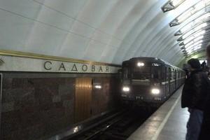 Карта (схема) метро Санкт-Петербурга.  Спасская.