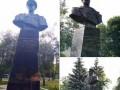 В Харькове восстановили снесенный активистами памятник Жукову