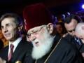 Янукович наградил орденом патриарха Грузии