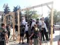 В Харькове активисты установили виселицы
