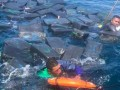 В Тихом океане три наркоторговца дрейфовали на тонне кокаина