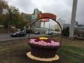 В Киеве появятся огромные корзины с цветами