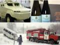 День в фото: Украина в снегу, новые бронеавтомобили и эксклюзивное вино для Савченко
