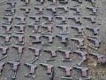 В Мариуполе нашли склад с оружием: 1,6 тыс гранат и 61 пистолет