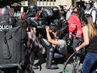 В столице Колумбии защитники животных подрались с полицией