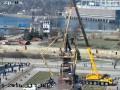 В Запорожье сносят самый большой памятник Ленину