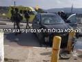 Израильские военные обстреляли авто атаковавшего палестинца