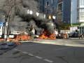 Столкновения в Киеве: ФОТО очевидцев