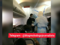 Эвакуация из Уханя: Что происходит на борту самолета