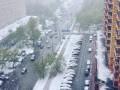 Москву засыпал снег, опубликованы фото