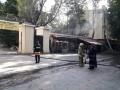 В Одессе в горсаду горел ресторан
