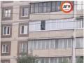 В Киеве мужчина открыл стрельбу с балкона