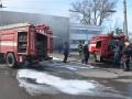В Николаеве горело троллейбусное депо
