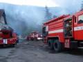 На Прикарпатье сгорело помещение Госказначейства