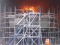 В России горел военный корабль