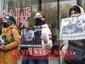 В Киеве активисты в черную пятницу устроили антимеховый протест