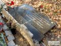 Вандалы разрушили памятный знак погибшим