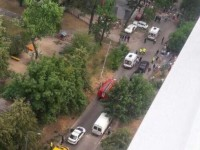 В Киеве взорвалось авто: четверо пострадавших