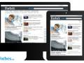 Сайт Forbes.ua стал первым общенациональным ресуром с адаптивным дизайном