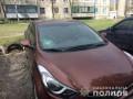Под Днепром мужчина молотком разбил 25 авто