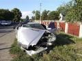 Пьяный милиционер сбил электроопору линии передач в Ивано-Франковской области