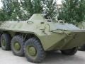 Украинские пограничники получили 10 БТР-70