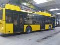 В Киев прибыли новые троллейбусы