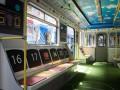 Киевский метрополитен запустил вагон-стадион
