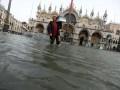 Непогода в Италии: 75% Венеции под водой