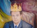 Янукович на иконе, Кернес на ягодице: как народ рисует политиков (ФОТО)