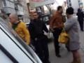 Появилось видео, как нардеп заступился за подозреваемых в убийстве СБУшника